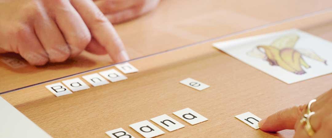 INTERPRAX Logopädie – Buchstaben lernen