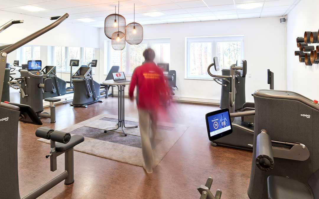 INTERPRAX eGym Trainingsbereich