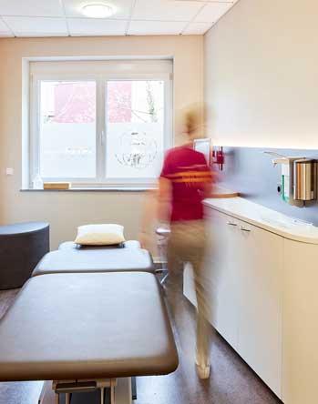 INTERPRAX Physiotherapie Behandlungszimmer